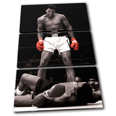 Boxing Muhammad Ali Liston Sports - 13-1960(00B)-TR32-PO